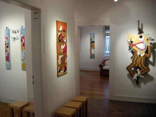 Pizzo 1, exposition Money, Money, Galerie EigenArt,  Karlsruhe Allemagne 2011